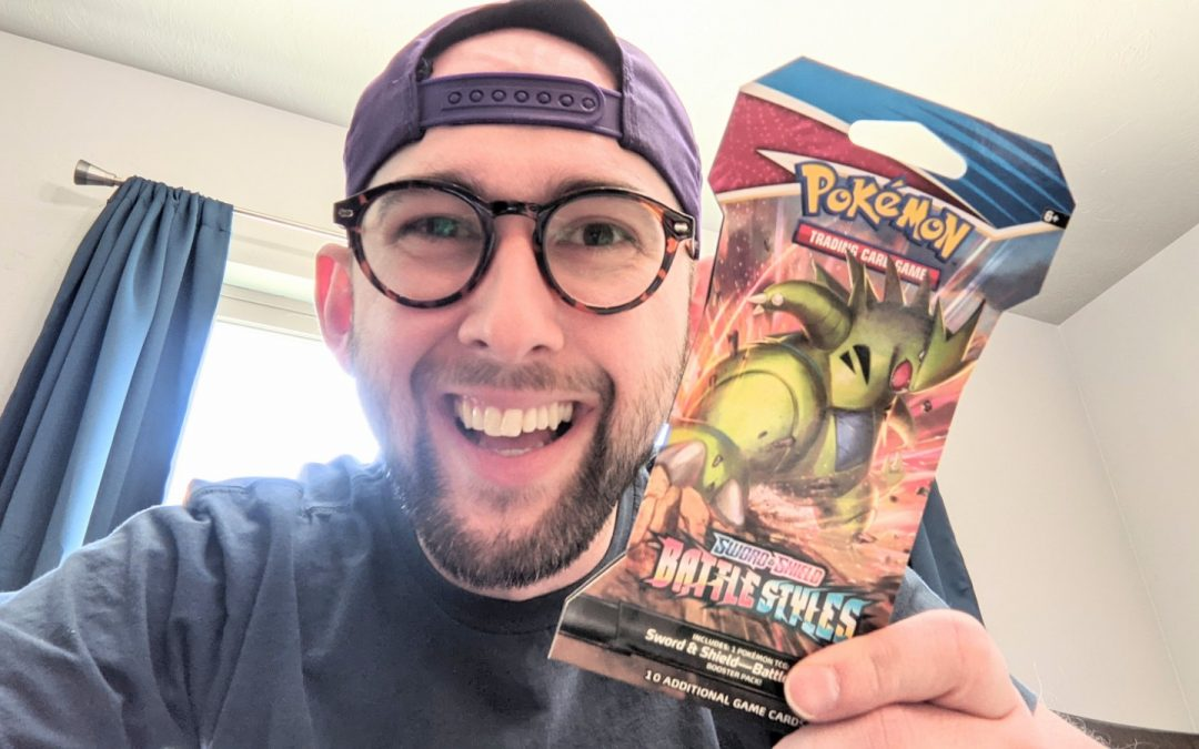 My first pack of Pokemon cards in 20 years